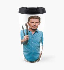 Bobby Flay Celebrity Chef Food Network TV Star Travel Mug