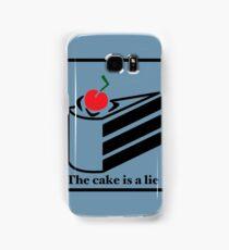 The cake is a lie Samsung Galaxy Case/Skin