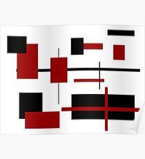 Rectangular Pattern 2 Poster