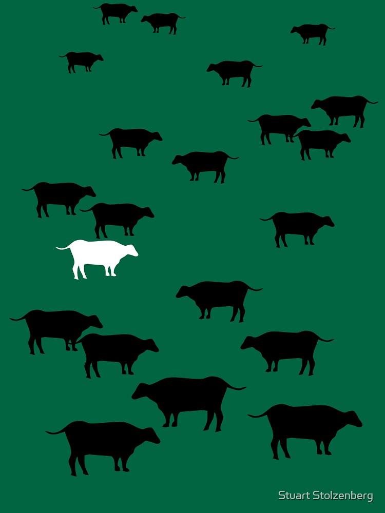 Cows by stuartist