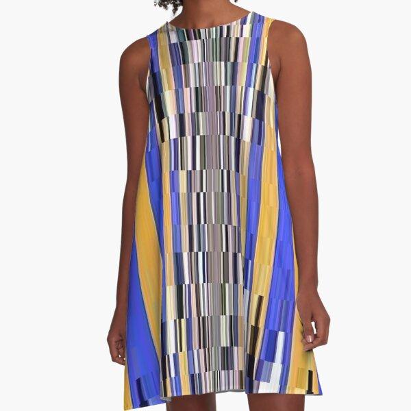 Pattern A-Line Dress