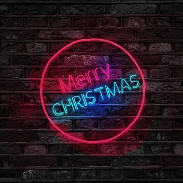 Merry Neon Christmas by clevelandcity