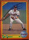 384 - Jim Presley by Foob's Baseball Cards