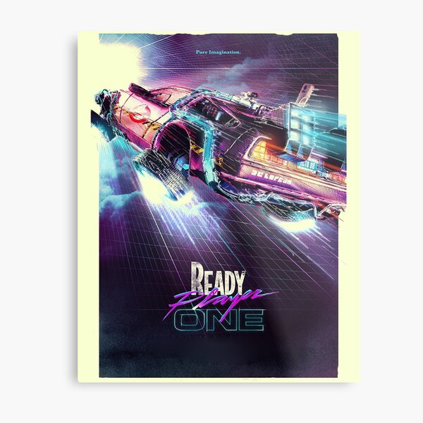 Ready Player One Future Odysey Metal Print