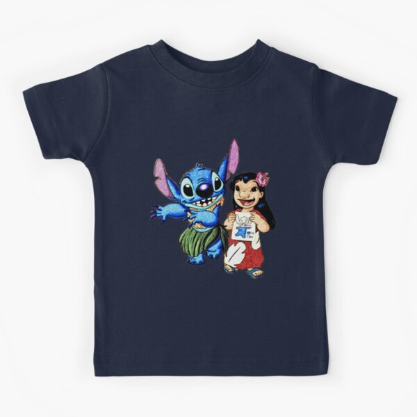 Lilo y Stitch Hula Camiseta para niños