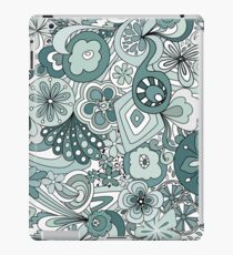 Retro Flowery Colouring Book iPad Case/Skin