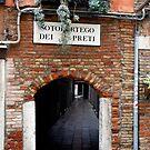 Venice Side Street by swight