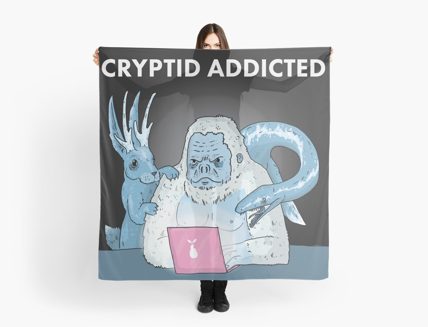 Cryptid Addicted Logo by CryptidAddicted