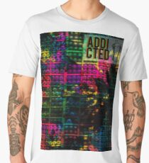 Graffiti CLOTHING [ADDICTED] Men's Premium T-Shirt