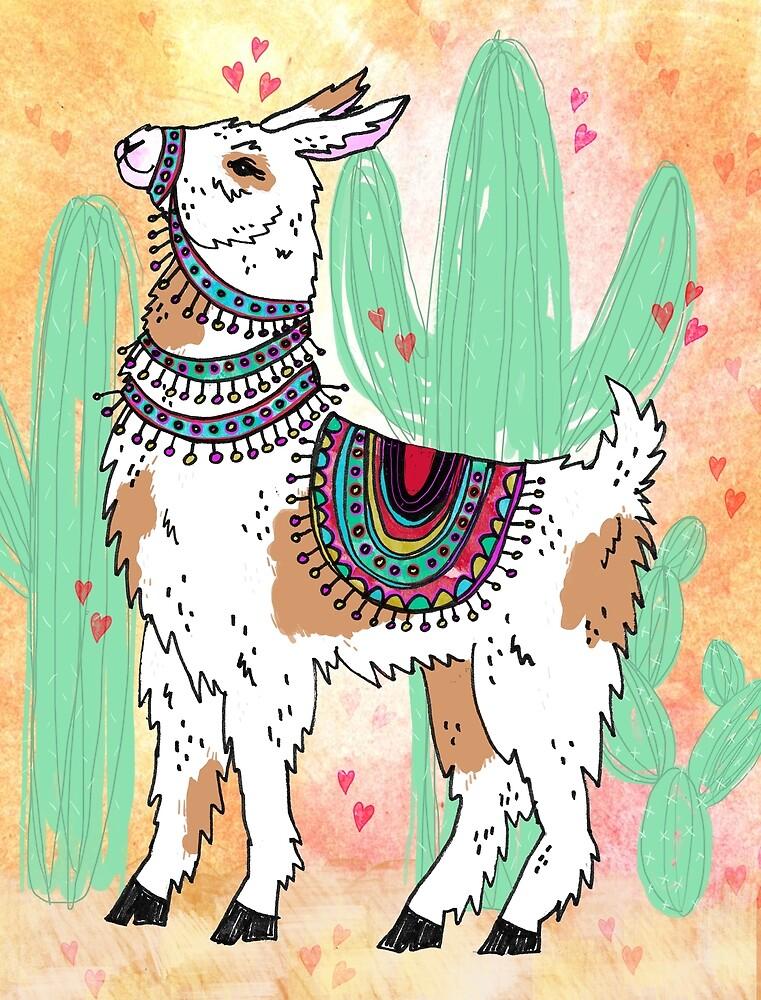 I Llama You by inkedinred