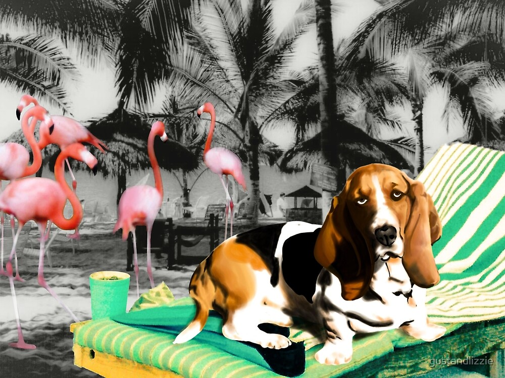 Tropical Basset by gustandlizzie