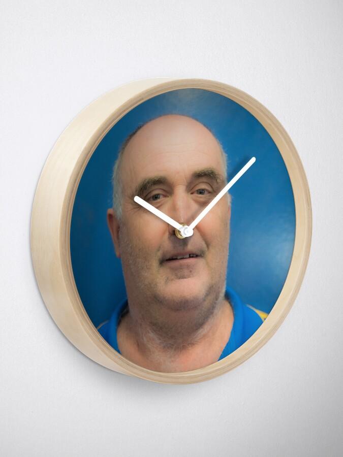 Alternate view of Plugger Clock