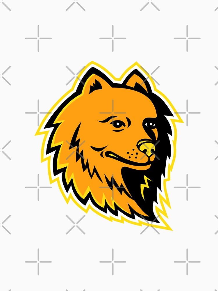 Pomeranian Dog Mascot by patrimonio