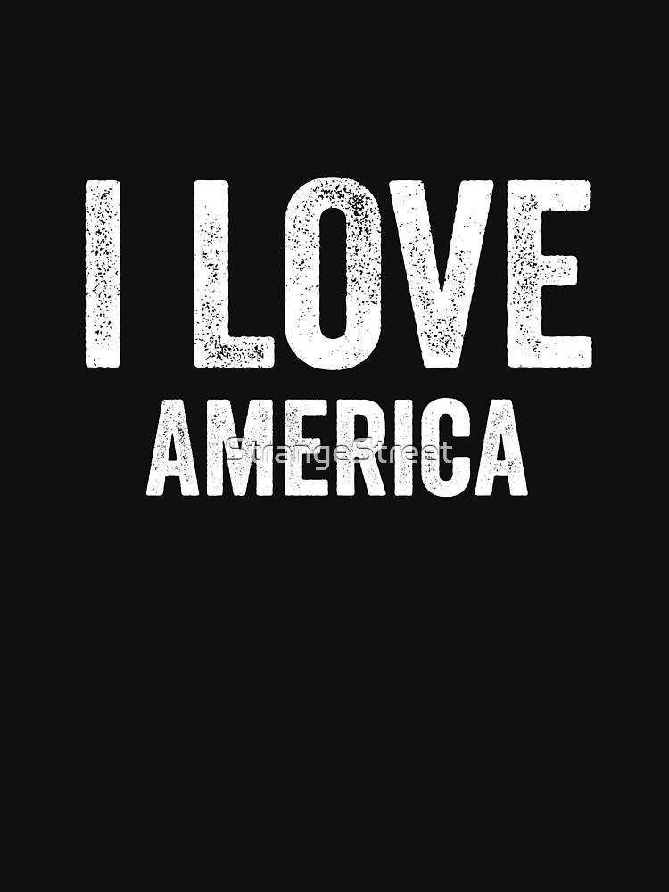 I Love America by StrangeStreet