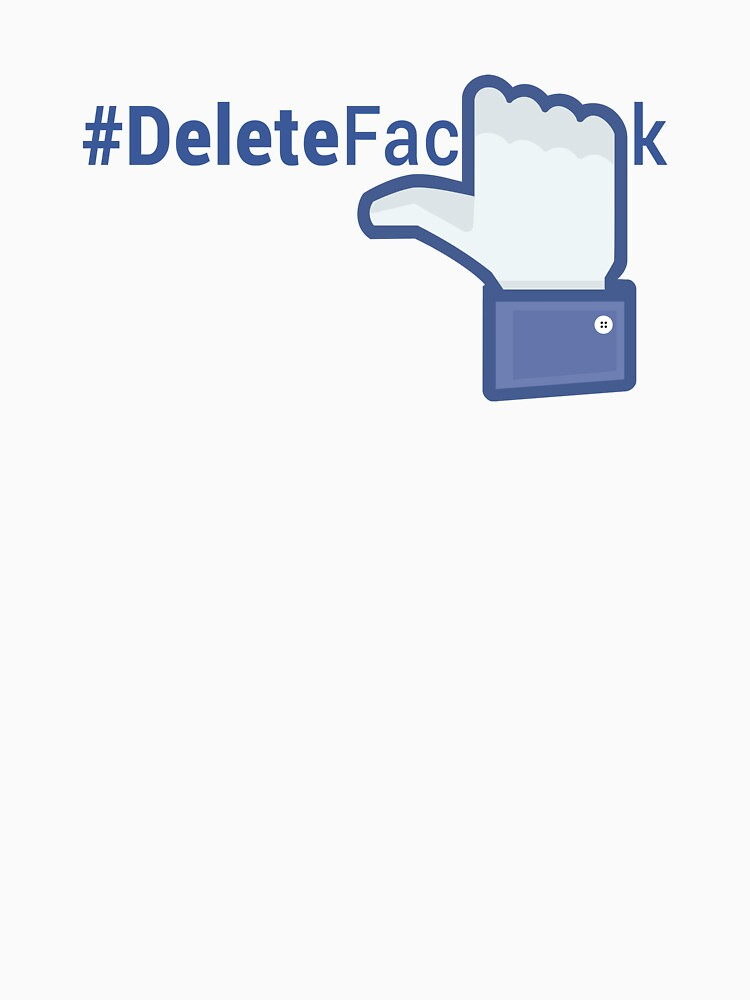 #DeleteFacebook Like Hand (light) by kamal-creations
