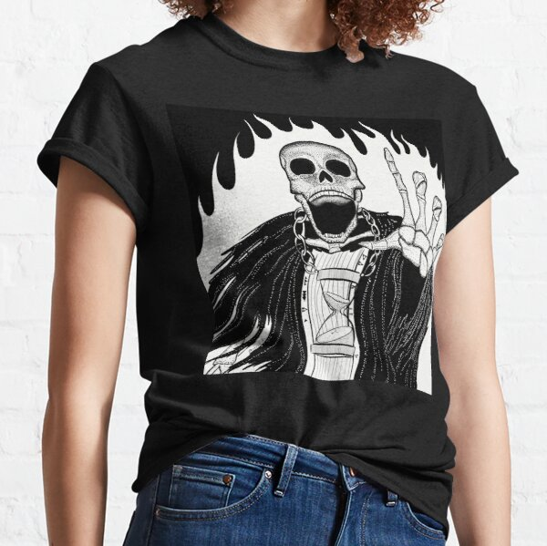 Skeleton Witch  Classic T-Shirt