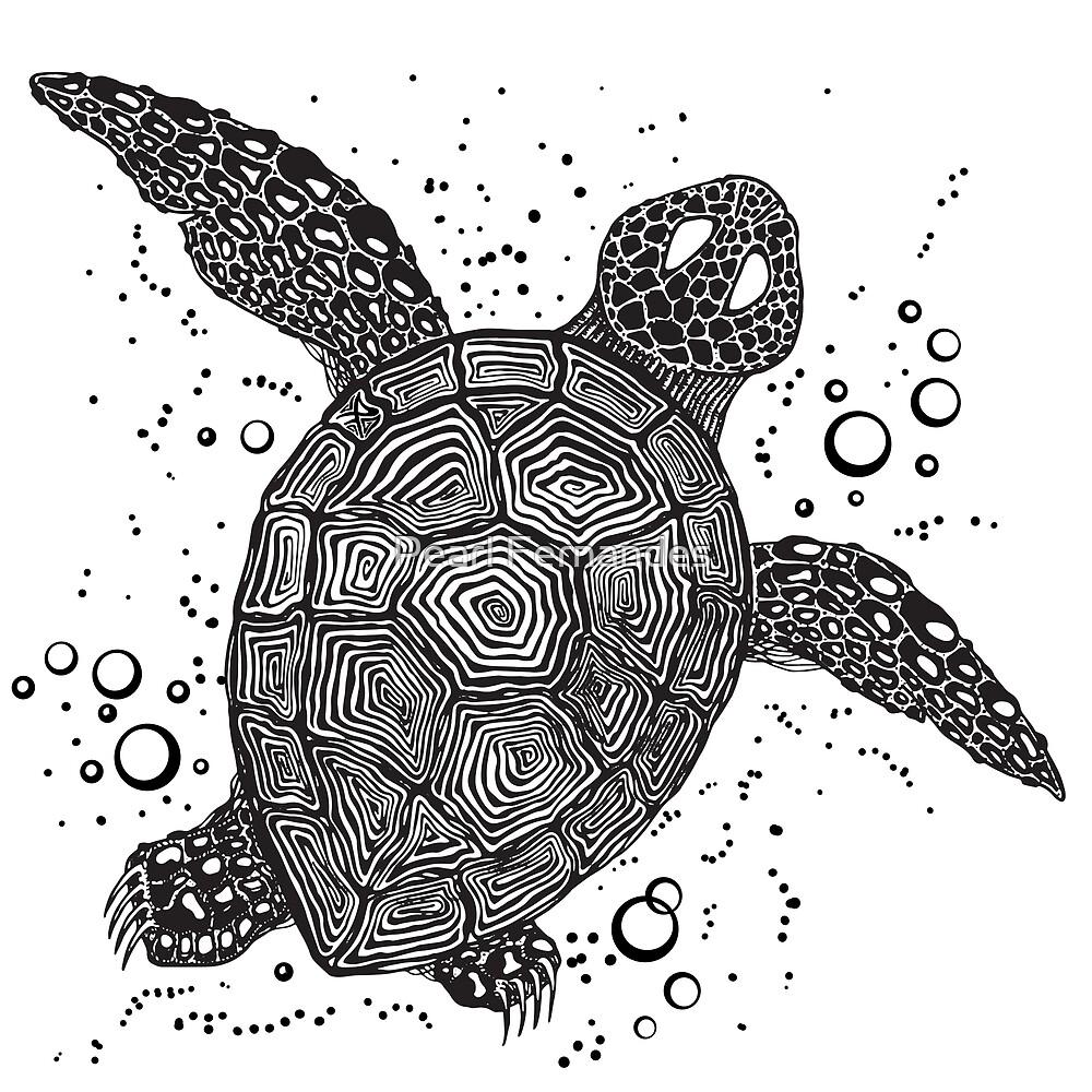 Turtle Swim by Pearl Fernandes