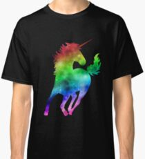 Rainbow Galaxy Unicorn Classic T-Shirt