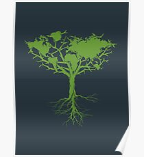 Earth Tree Poster