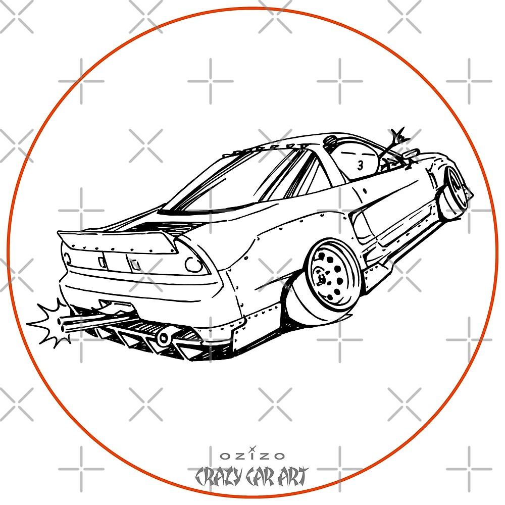 Crazy Car Art 0191 by ozizo