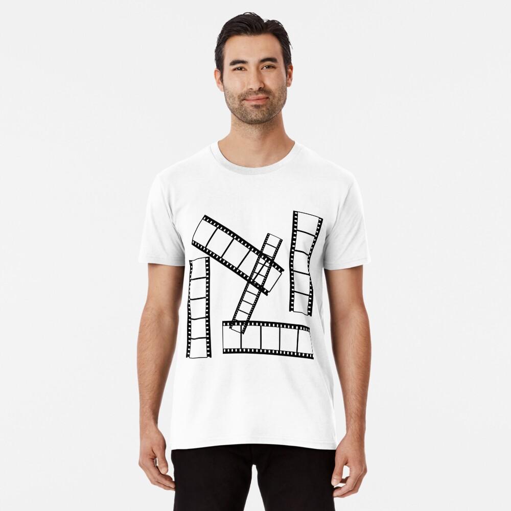 Movie Buff Men's Premium T-Shirt Front