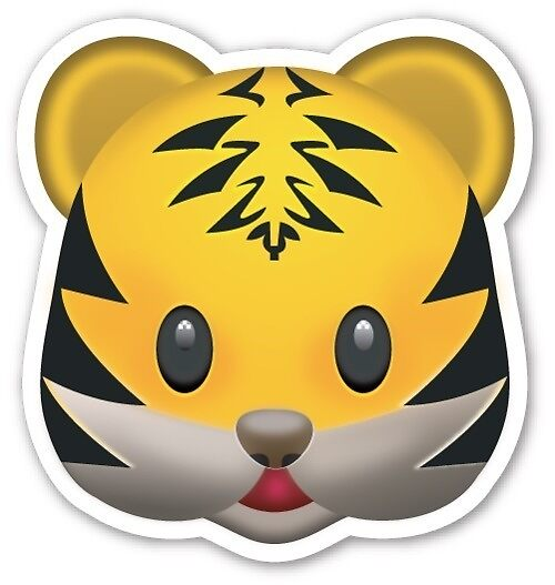 """Tiger emoji"" by Catherine harp 