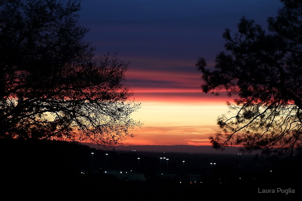 Sunset In Folsom by Laura Puglia