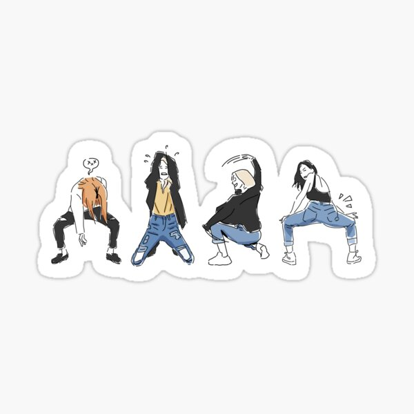 Starry Night - dance practice Sticker