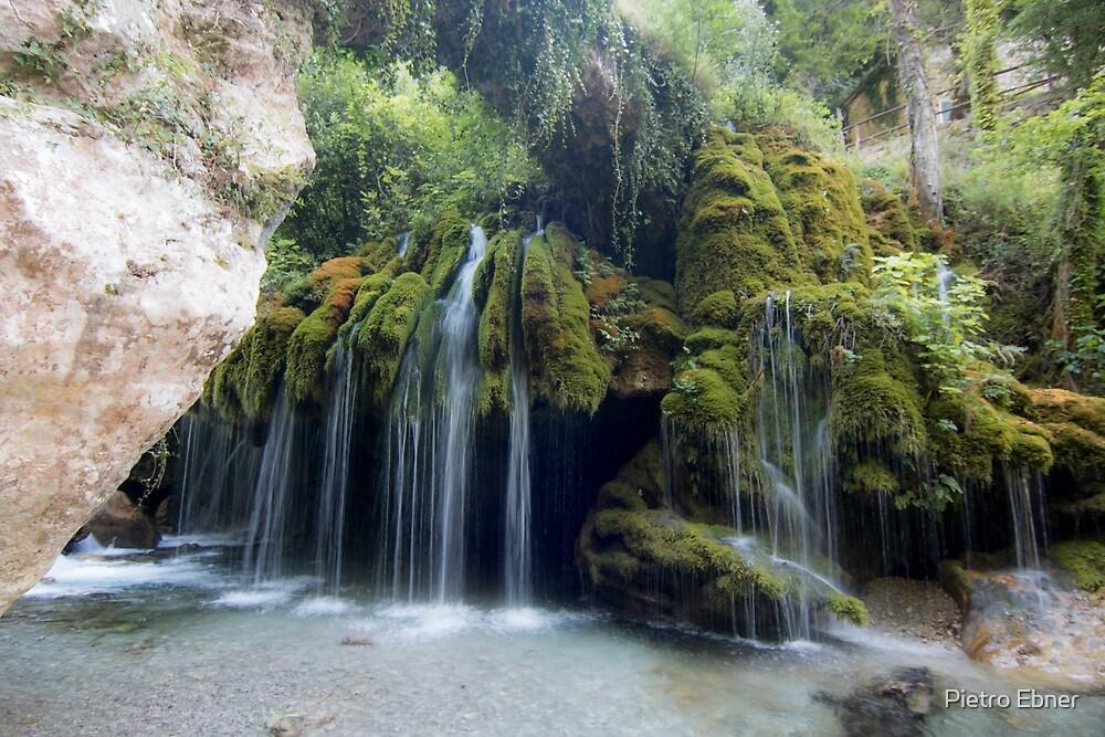 Capelli di Venere waterfall by pietrofoto