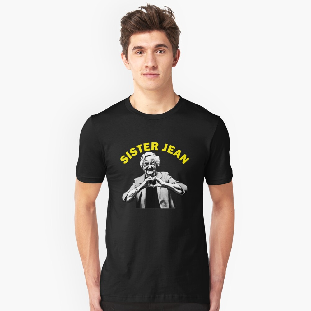 sister jean Unisex T-Shirt Front