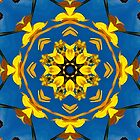Yellow Coneflower, Ratibida, Kaleidoscope 793 by rvjames