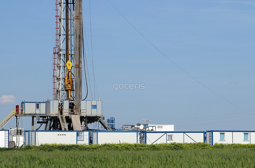 oil drilling rig with Top Drive system by goceris