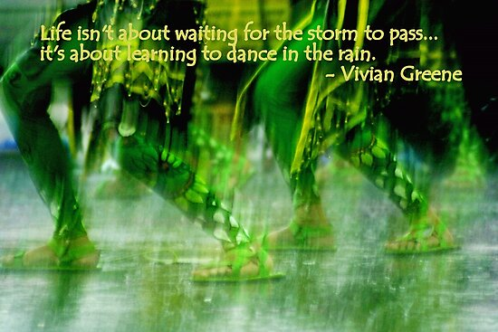 Rain dance by lensbaby