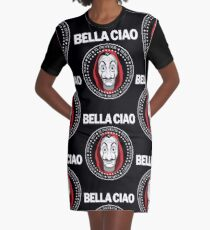 Bella Ciao Graphic T-Shirt Dress