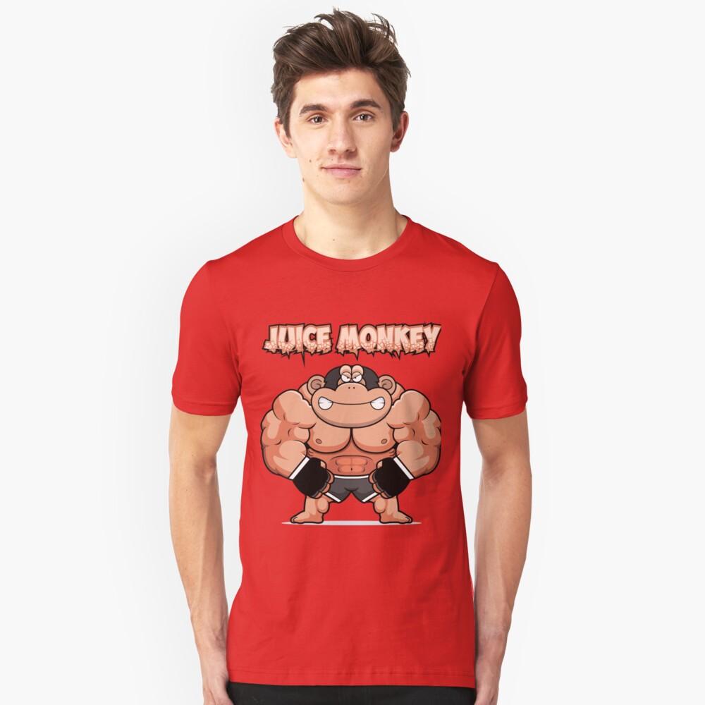 Juiced Monkey Unisex T-Shirt Front