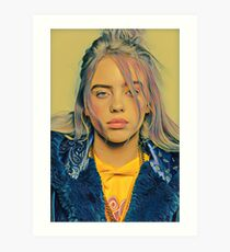 Billie Eilish Painting Art Print