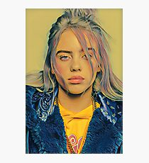 Billie Eilish Malerei Fotodruck