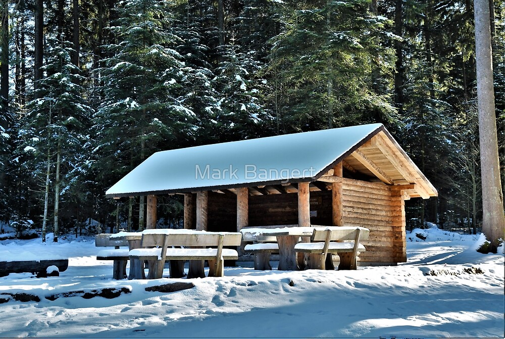 A cold place to meet by Mark Bangert