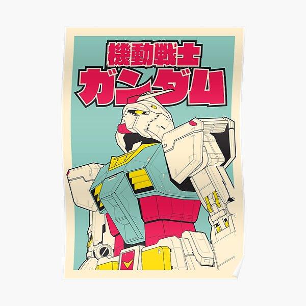 Gundam Anime Cartoon Retro Backpack Accessory