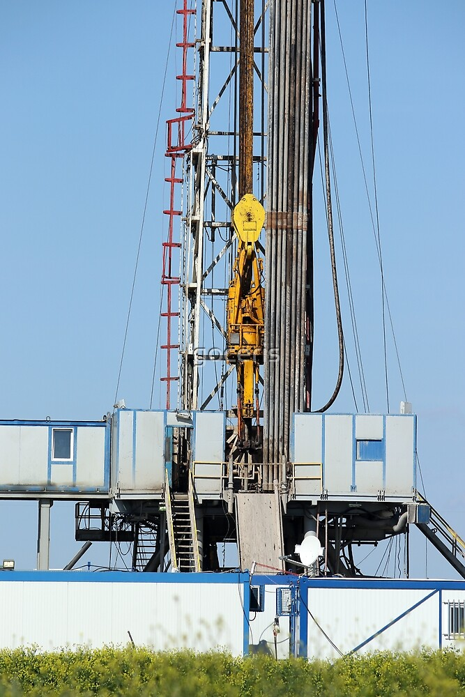 top drive system oil drilling rig by goceris