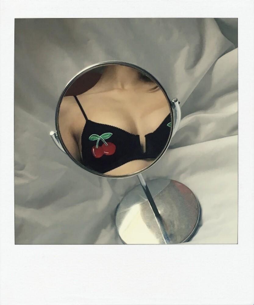 Cherries / Polaroid by crumpetstrumpet