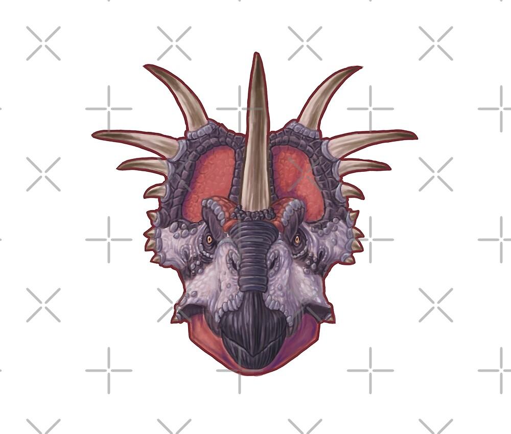 Styracosaurus albertensis by Sean Closson