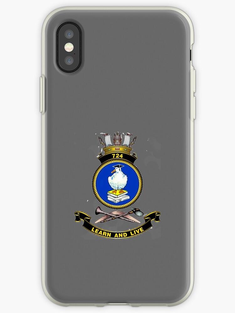 724 Squadron Crest by Peter Doré