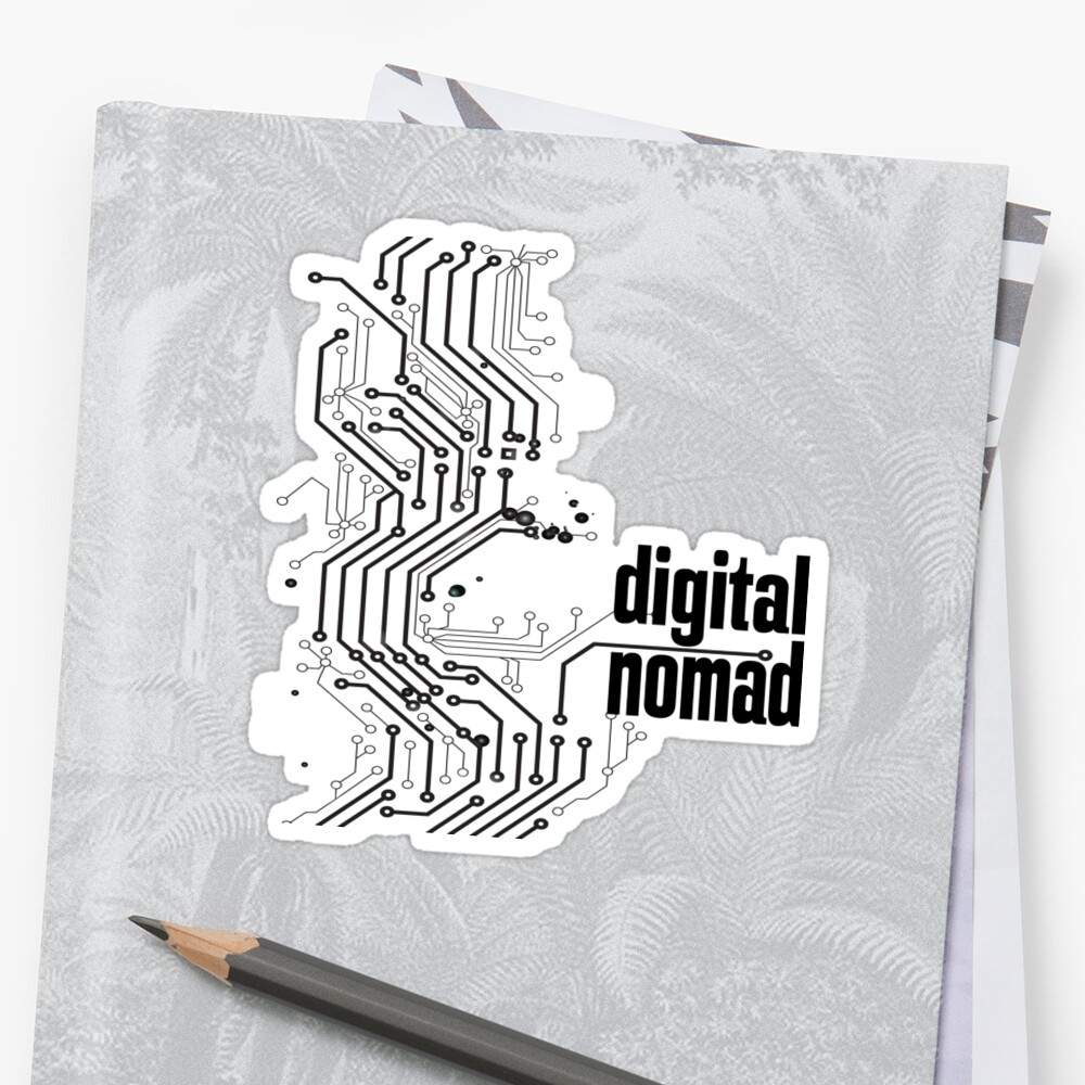 Digital Nomad A Nomad Tale by ProjectX23