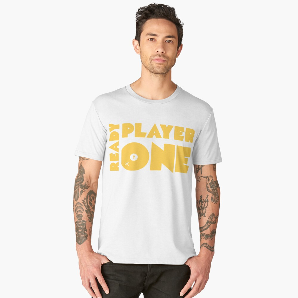 ready player one  Men's Premium T-Shirt Front