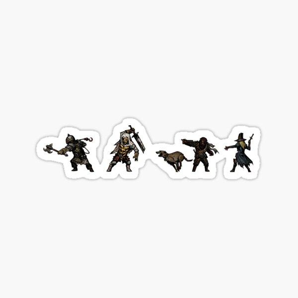 Darkest Dungeon Heroes Sticker pack #3 Pegatina