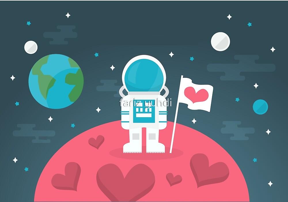 Space Love by fariz yuhdi