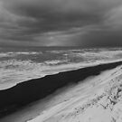 Snow Dunes and Stormy Seas by Heath Carney