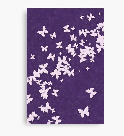Butterflies Galore 2 Canvas Print