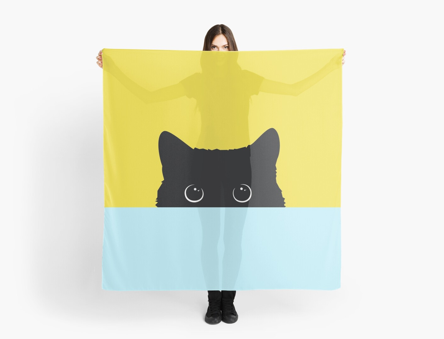 car art cute black cat love 2018 color yellow and sky blue sticker ...